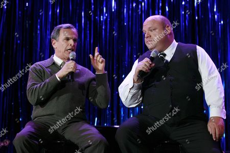 Tony Plana and Kevin Chamberlin