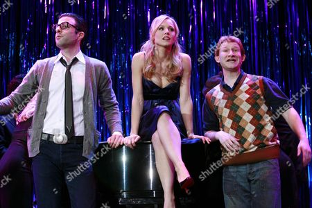 Stock Photo of Zachary Quinto, Kristen Bell and Adam Wylie