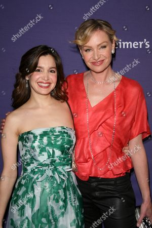 Gina Philips and Portia de Rossi
