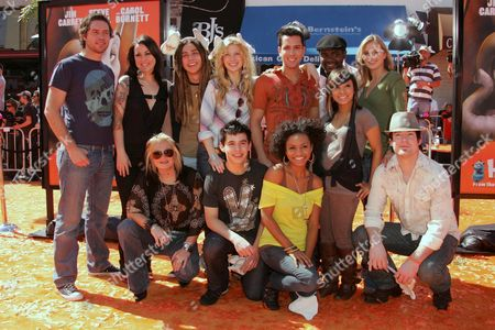 American Idol 12 Finalists- back row: Michael Johns, Carly Smithson, Jason Castro, Brook White, David Hernandez, Chikezie, Kristy Lee Cook; Front row: Amamnda Overmyer, David Archuleta, Syesha Mercado, Ramiele Malubay, David Cook