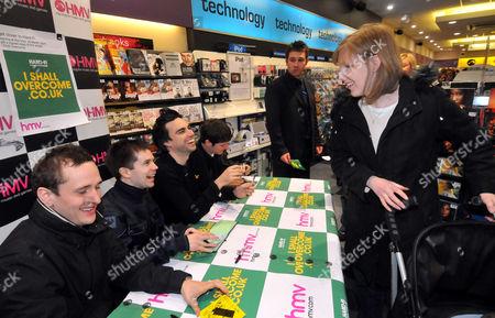 Stock Picture of Hard-Fi - Steve Kemp, Ross Phillips, Richard Archer and Kai Stephens