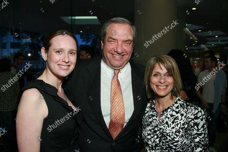 Noelle Lippman, Dick Wolf and Janice Spire