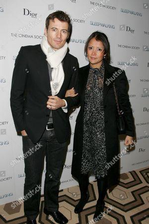 Alex Lundquist and wife Keytt