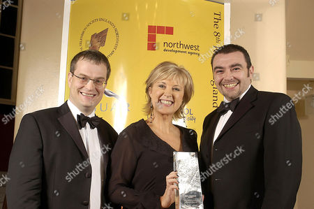 'RTS North West Awards' - 2003 - L-R Mark Alderton, Lucy Meacock and Steven Roberts