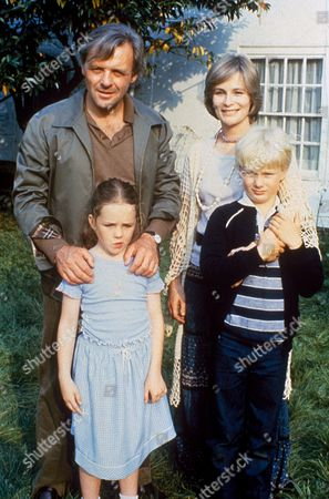 'A Married Man'  TV - 1983 -  Anthony Hopkins as John Strickland, Ciaran Madden as his wife Clare, and the two children