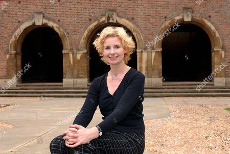 Dr. Bee Wilson at St. John's College, Cambridge.