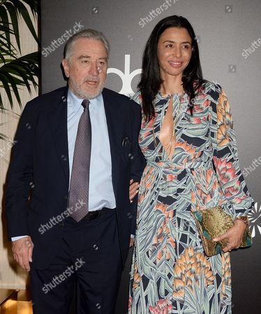 Robert De Niro and daughter Drena De Niro