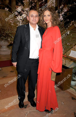 Johnny Elichaoff and Trinny Woodall