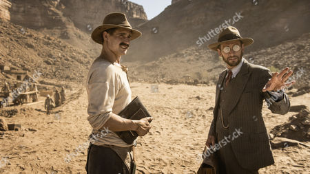 Stock Picture of Jonathan Aris (as Winlock) and Max Irons (as Carter)