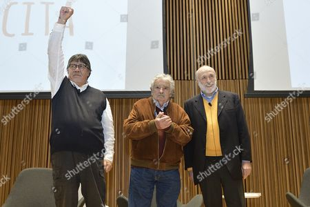 Luis Sepulveda, Pepe Mujica and Carlo Petrini