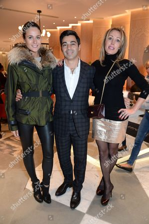 Editorial photo of 111Skin Christmas Journals launch, Harvey Nichols, London, UK - 07 Nov 2016