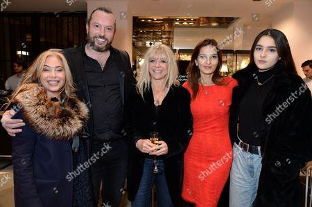 Editorial picture of 111Skin Christmas Journals launch, Harvey Nichols, London, UK - 07 Nov 2016