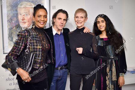 Stock Picture of Hazel Collins, Sacha Newley, Paulene Stone and Sheela Raman