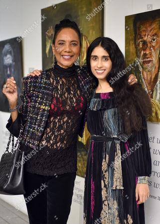 Hazel Collins and Sheela Raman