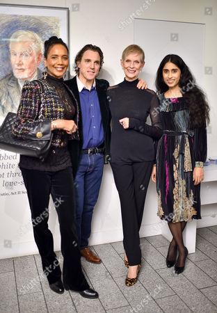 Hazel Collins, Sacha Newley, Paulene Stone and Sheela Raman