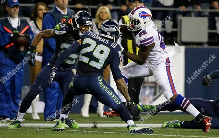 Editorial picture of Buffalo Bills v Seattle Seahawks, NFL football game, Seattle, USA - 07 Nov 2016