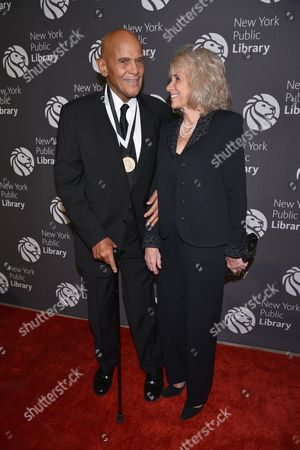 Harry Belafonte and Pamela Frank