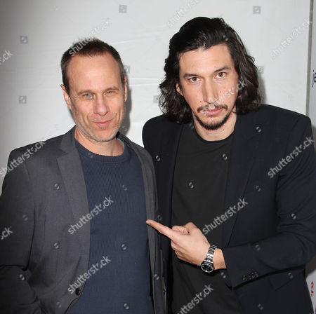 Stock Image of Stephen Belber and Adam Driver