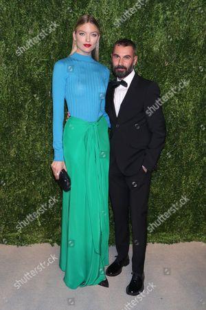 Editorial image of CFDA X Vogue Fashion Fund Dinner, New York, USA - 07 Nov 2016