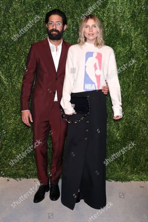 Stock Picture of Greg Chait and Dree Hemingway