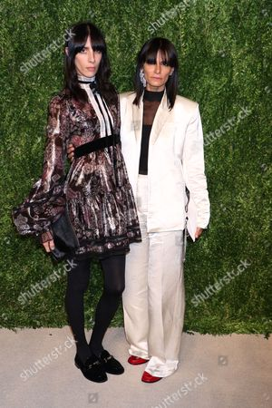 Stock Image of Jamie Bochert and Marjan Malakpour