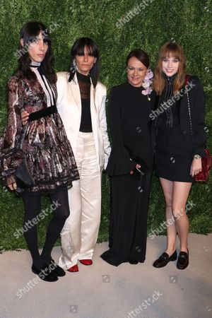Editorial picture of CFDA X Vogue Fashion Fund Dinner, New York, USA - 07 Nov 2016