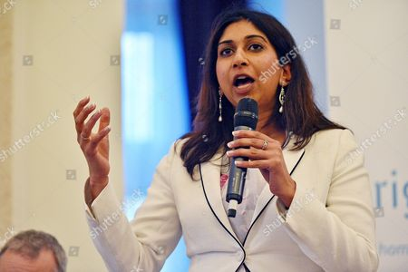 Conservative Party Annual Conference Manchester. Pic Shows:- Suella Fernandes Mp.