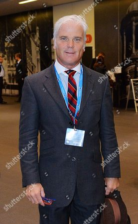 Editorial photo of Desmond Swayne Mp Conservative Party Annual Conference Manchester Central Greater Manchester.