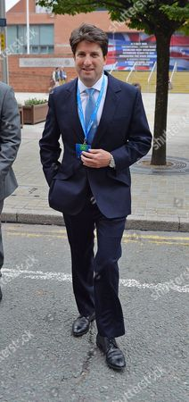 Conservative Party Annual Conference Manchester Central Greater Manchester.- Minister Without Portfolio Chairman Of The Conservative Party Andrew Feldman.Lobby- 4/10/15.