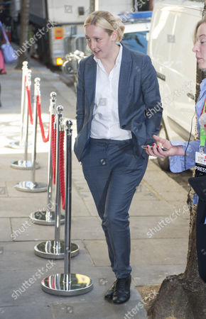 Mhairi Black Member Of Parliament For Paisley And Renfrewshire South Since 2015 When She Defeated Labour Shadow Foreign Secretary Douglas Alexander. Arriving For The Women In The World Event In London. 09.10.15.