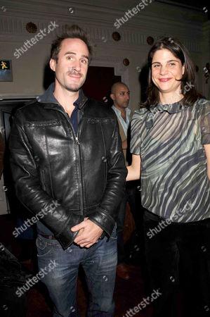 Joseph Fiennes and Katrina Pavlos
