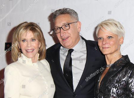 Jane Fonda, Moises Kaufman, Lauren Wainwright