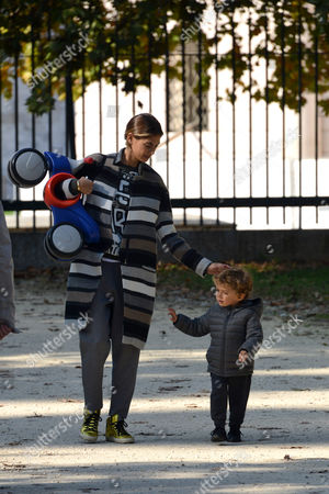 Melissa Satta, son Maddox Prince Boateng
