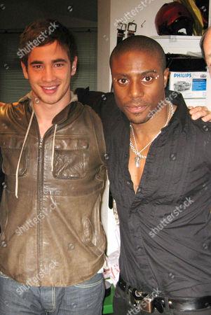 Danny Cipriani and Leo Ihenacho