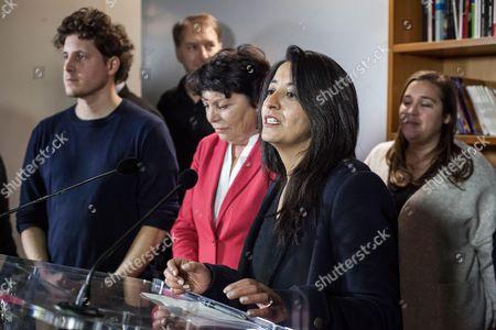 Karima Delli and Michele Rivasi