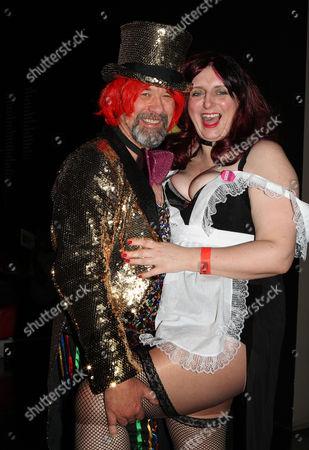 Rocky Horror fans Peter Faiers and partner Debbie Kairney