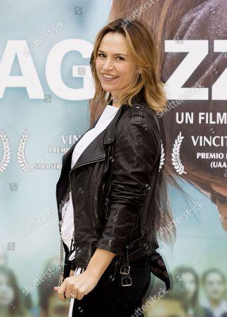Stock Photo of Stefania Montorsi