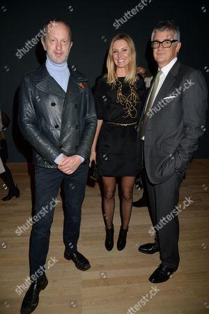 Guest, Malin Johansson and Jay Jopling