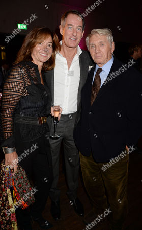 Don McCullin and his wife and Tim Jefferies