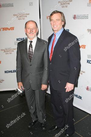 Director/producer Greg MacGillivray; Robert F. Kennedy Jr.