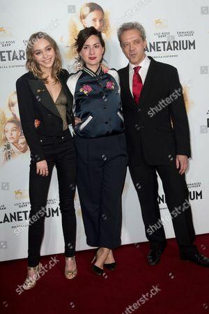 Stock Photo of Lily-Rose Depp, Rebecca Zlotowski and Emmanuel Salinger