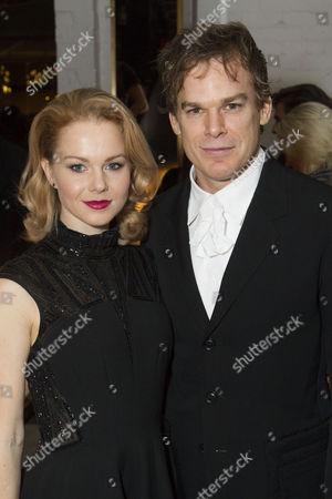 Amy Lennox (Elly) and Michael C Hall (Thomas Jerome Newton)