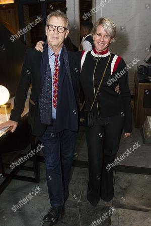 Robert Fox (Producer) and Fiona Golfar