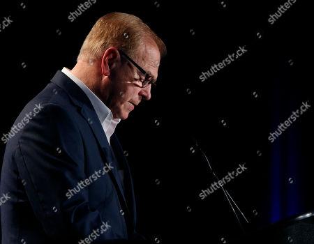 Editorial picture of 2016 Election Senate Strickland, Columbus, USA - 08 Nov 2016