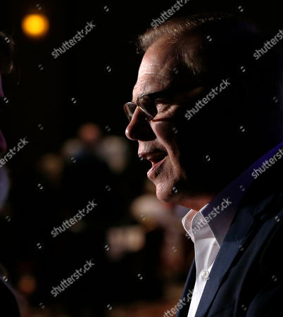 Ted Strickland Ohio Democratic Senate candidate and former Ohio Gov. Ted Strickland talks to a reporter after delivering his concession speech during the Ohio Democratic Party's election-night watch party, in Columbus, Ohio