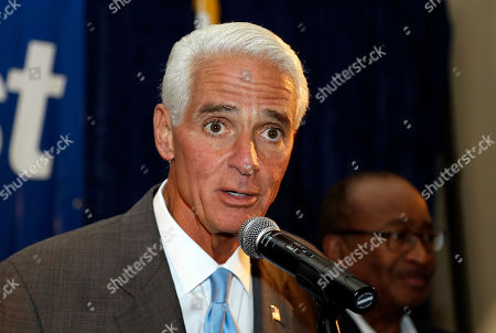 Charlie Crist Former Florida Gov. Charlie Crist speaks to supporters after being elected to the U.S. House of Representatives, in St. Pete Beach, Fla. Crist defeated Republican opponent David Jolly