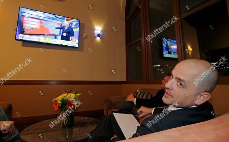 Evan McMullin Independent presidential candidate Evan McMullin watches election results during an election night watch party, in Salt Lake City