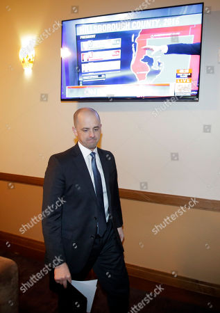 Evan McMullin Independent presidential candidate Evan McMullin watches election results during a election night watch party, in Salt Lake City