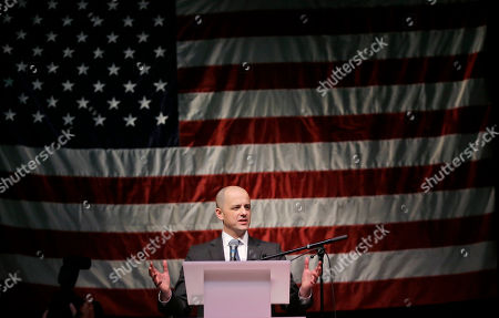 Evan McMullin Independent presidential candidate Evan McMullin speaks to his supporters during a election night watch party after Republican Donald Trump won Utah, in Salt Lake City. Trump won Utah's six electoral votes