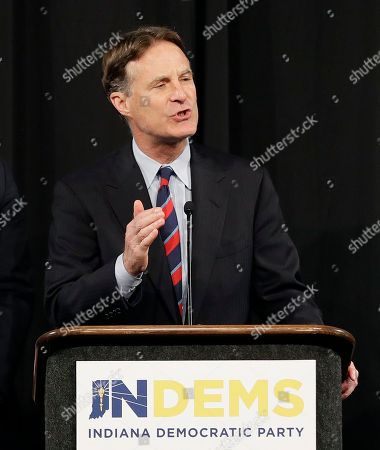 Indiana Democratic Senate candidate Evan Bayh speaks at a election night rally, in Indianapolis. Bayh was defeated by Rep. Todd Young for one of Indiana's U.S. Senate seats